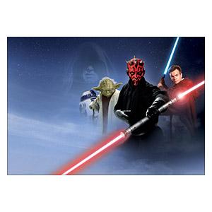 Хардпостер (на твёрдой основе) Star Wars. Размер: 50 х 35 см
